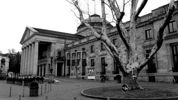Das Kurhaus in Wiesbaden